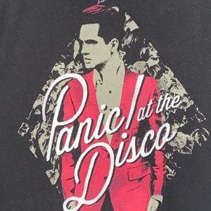 Panic at the disco tee shirt